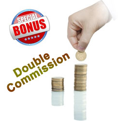 Double Affiliate Program Commission