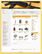 Best Selling Airsoft Affiliate Website