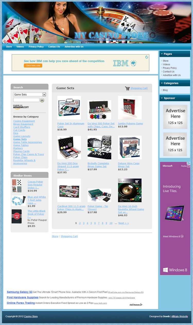 casino websites for sale